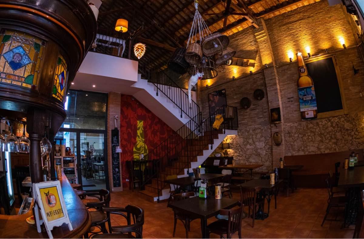 Beercat Barcelona Gastrobar Interior